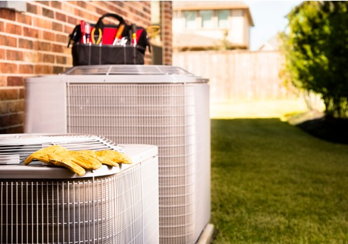 Two AC units requiring Air Conditioning Services in St. Louis MO